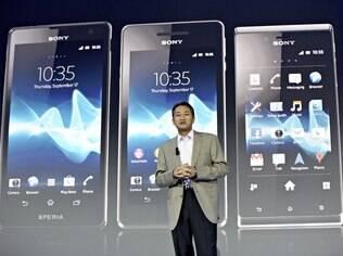 Na IFA 2012, Sony apostou em renovação do tablet S e em novos smartphones da linha Xperia