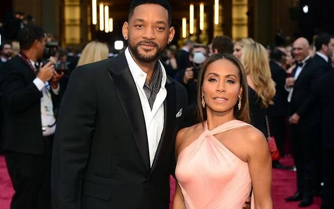 Astros Will Smith e Jada Pinkett Smith estão casados há 20 anos