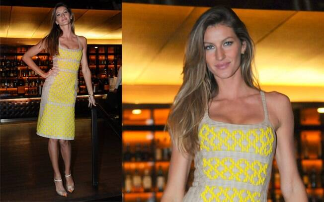 Gisele Bündchen é embaixadora do Fashion's Night Out