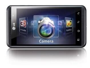 LG Optimus 3D não requer o uso de óculos para a visualização do conteúdo em 3D