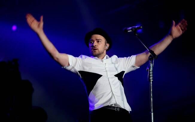 Show de Justin Timberlake no Rock in Rio 2013. Foto  Vivian Fernandez iG b9a84570946