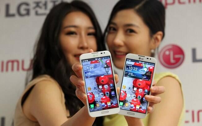 Apresentado no Mobile World Congress, Optimus G Pro é uma das atrações da LG. O aparelho tem tela de 5,5 polegadas