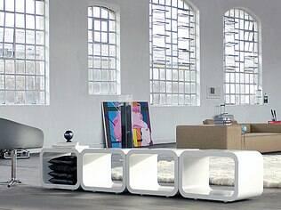 O loft projetado por Francisco Cálio garante a individualidade do ariano