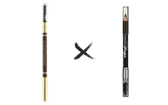 Lápis de sobrancelhas Le Crayon Sourcils vs. Lápis de sobrancelhas Master Shape