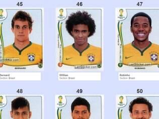 O atacante Robinho aparece entre os possíveis convocados para a Copa