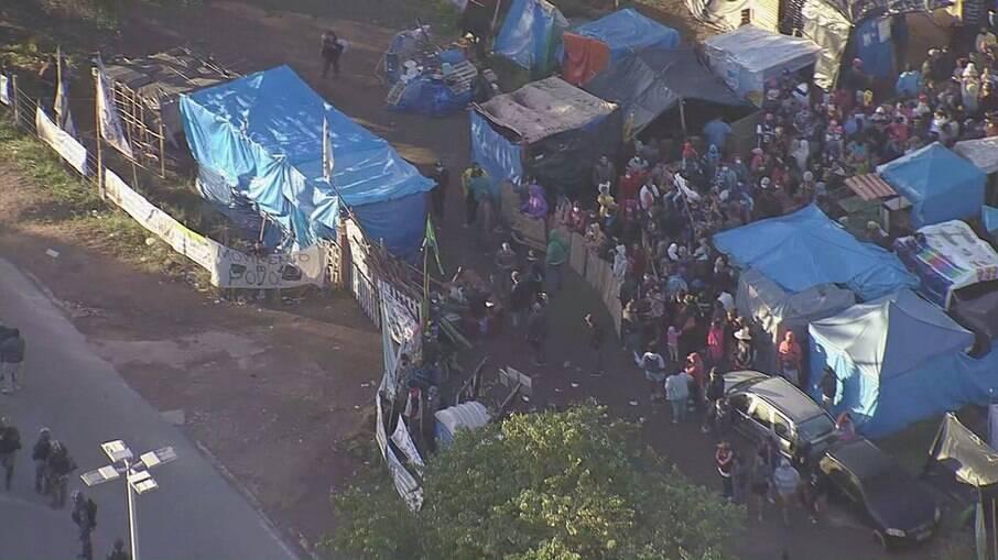 Justiça realiza operação de reintegração de posse de terreno da Petrobras em Itaguaí