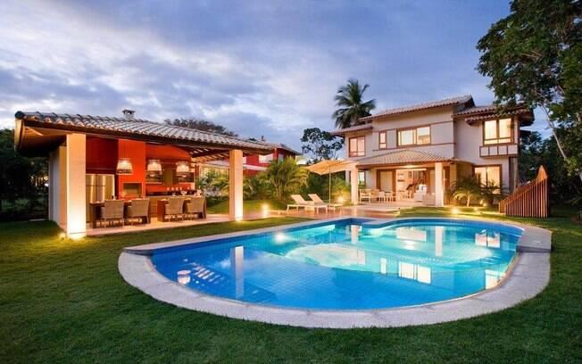 Vida de luxo compartilhada lazer e prazer ig for Casa quinta moderna