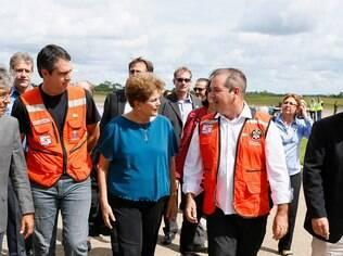 Presidente prometeu convidar Gilberto Kassab, Aldo Rebelo e Eliseu Padilha para reuniões (11.03.15)