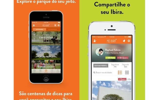 Aplicativo Meu Ibira reúne agenda cultura e curiosidades sobre o Parque Ibirapuera. O app é gratuito e está disponível para Android e iOS