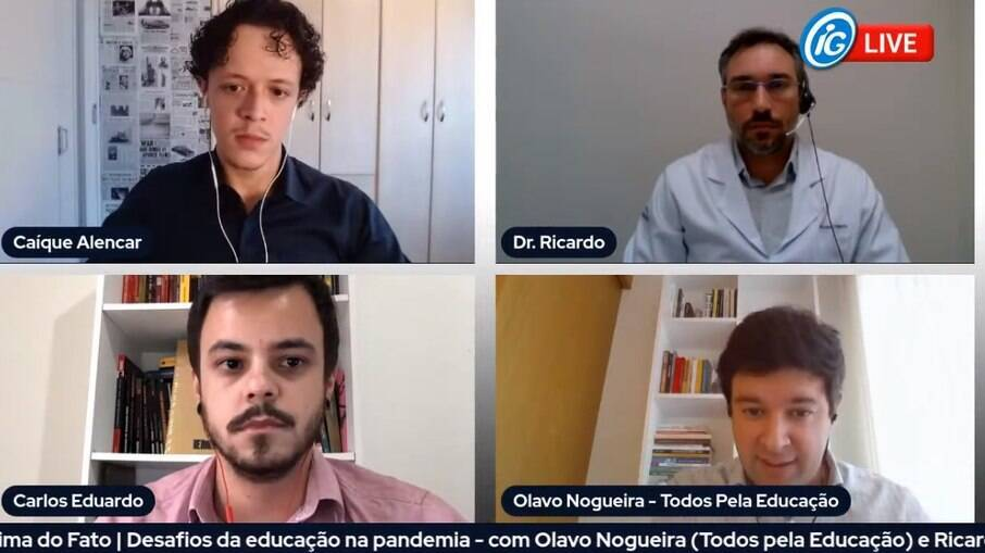 Especialistas debateram os desafios propostos pela pandemia na educação