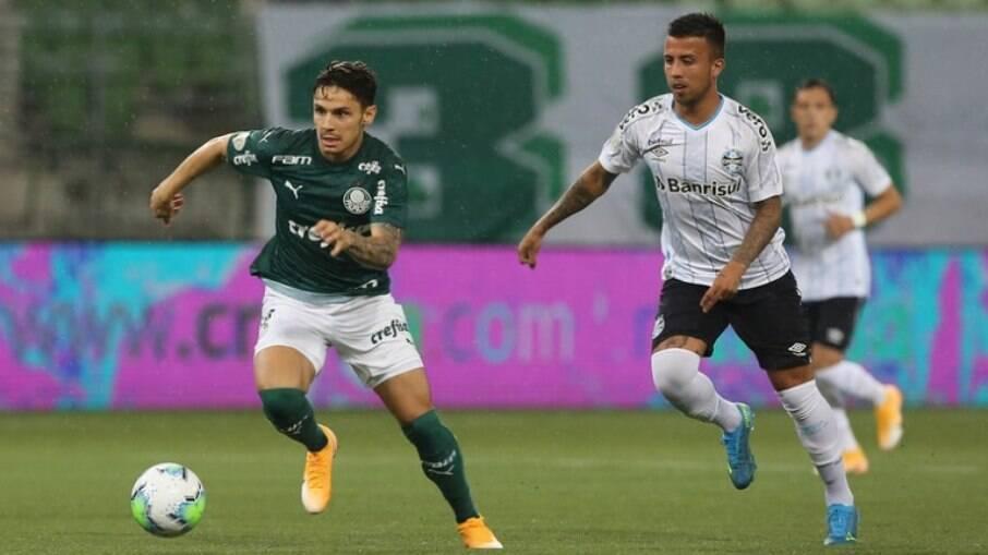 Palmeiras e Grêmio se enfrentam pelo Brasileirão