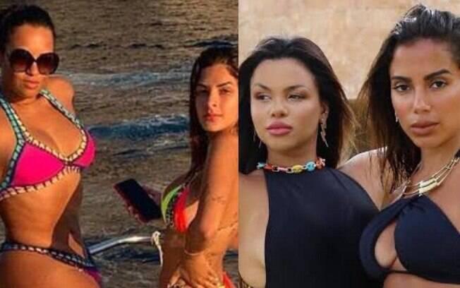 Ariadna, Lary Bottino, Gabily e Anitta