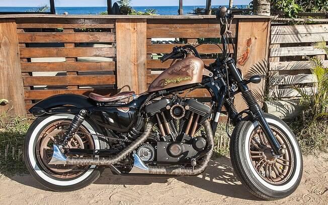 A Rusty Rio foi a motocicleta vencedora do Battle Of The Kings Brasil 2018, promovido pela Harley-Davidson