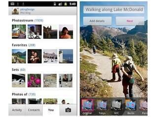 Flickr para Android está disponível na Android Market