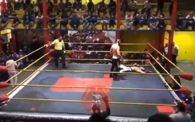 Lutador morreu após sofrer infarto
