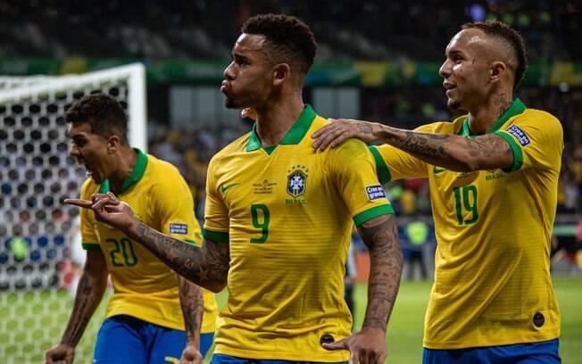 Gabriel Jesus deixou sua marca no duelo do Brasil contra a Argentina
