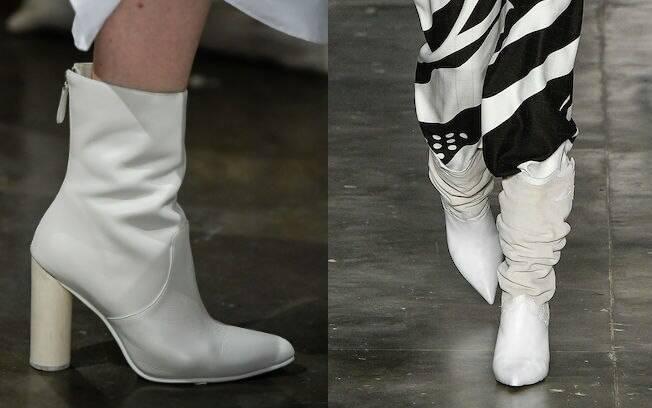 Para Lilian Pacce, é preciso ter estilo para conseguir usar botas com a cor branca, que estarão liberadas na estação