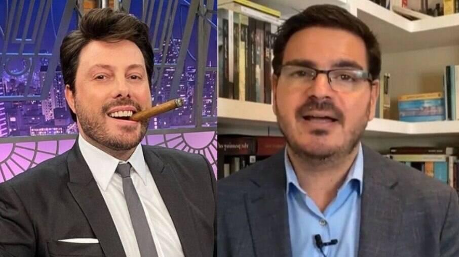 Danilo Gentili e Rodrigo Constantino
