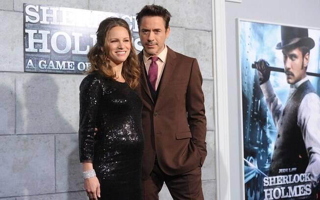 Nasce o segundo filho de Robert Downey Jr. e o primeiro de Susan Downey