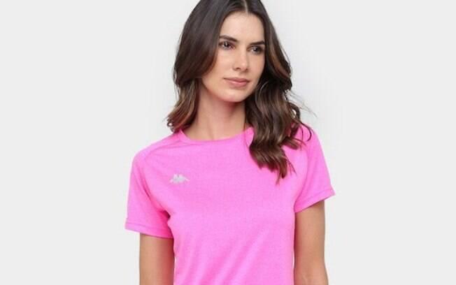 Camiseta Kappa Marseille Feminina
