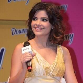 Vanessa Giácomo participa de evento, em São Paulo