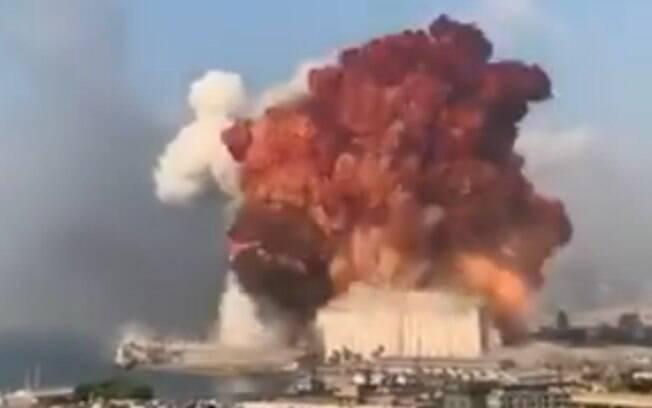 Explosão aconteceu no começo de agosto.