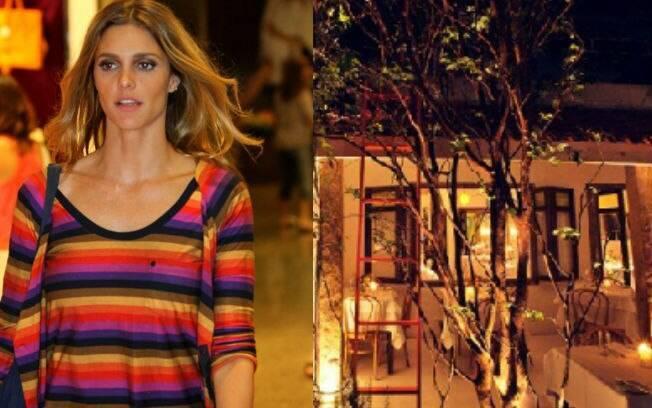 Fernanda Lima é dona do Maní
