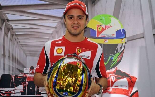 Felipe Massa quando era piloto da Ferrari