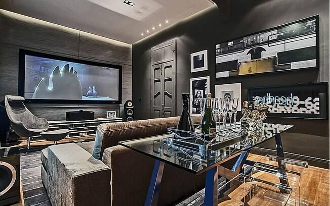 Sala de television moderna