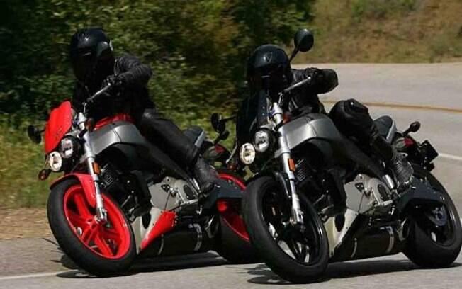 Entre as marcas de motos, a Buell apostou na bela XB12S para o Brasil