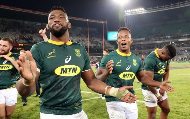 Alun Wyn Jones Seleção da África do Sul no Mundial de Rugby