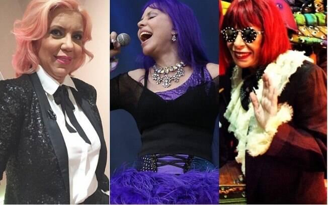 Astrid Fontenelle, Baby do Brasil e Rita Lee mostram que idade não está ligada à vontade de ter cabelo colorido — e arrasar!