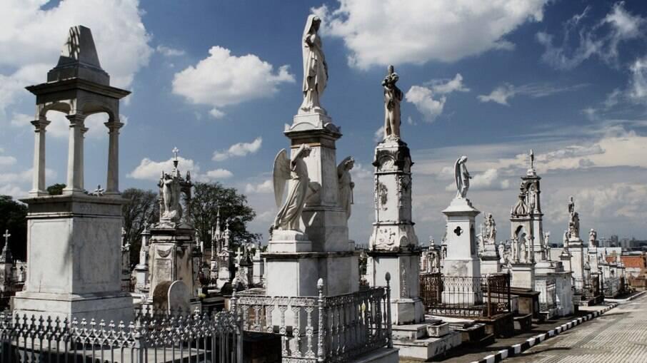 Cemitério da Saudade, em Campinas.