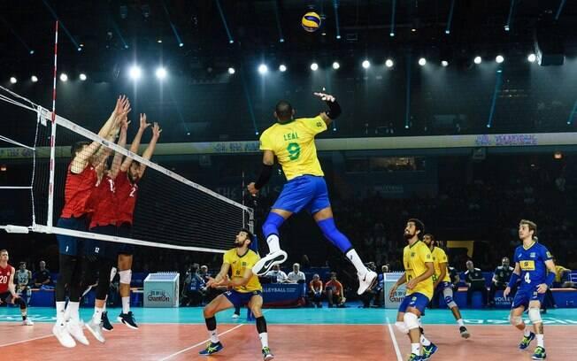 Brasil perdeu de virada para os Estados Unidos e acabou eliminado da Liga das Nações