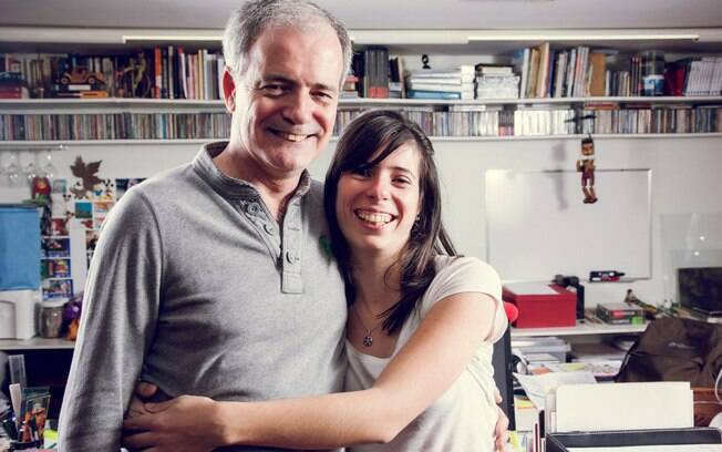 Marina conta que ela que tomou a atitude de conversar com o pai sobre a homossexualidade dele . Foto: Edu Cesar