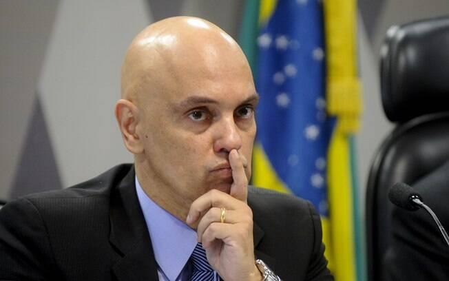 Alexandre de Moraes é o relator do inquérito das fake news
