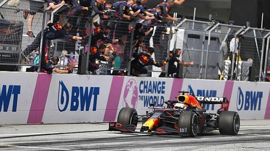 Verstappen ganhou o GP da Áustria
