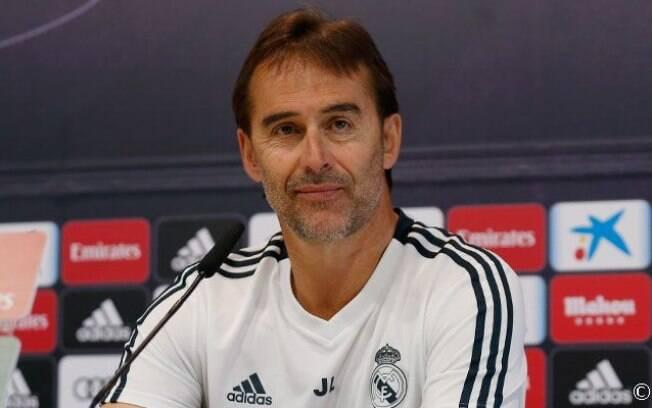 Para Julen Lopetegui, técnico do Real Madrid, Modric merece prêmio de melhor do mundo