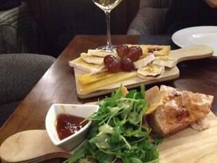 Geleias, queijos portugueses e até foie gras fazem também a mesa em Portugal