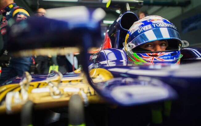 Daniel Ricciardo, piloto australiano da Toro  Rosso