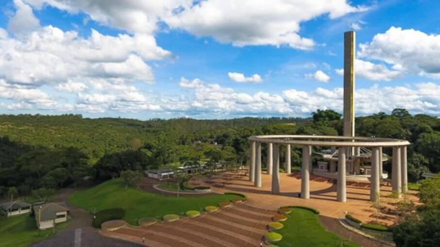 O Solo Sagrado de Guarapiranga conta com jardins, museus e templos