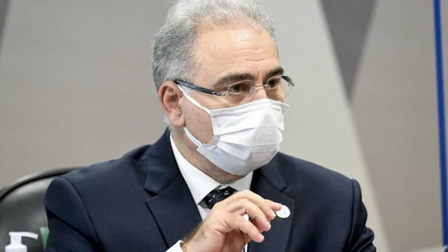 Marcelo Queiroga, ministro da Saúde, diz que Programa Nacional de Vacinação é a esperança para colocar fim à pandemia