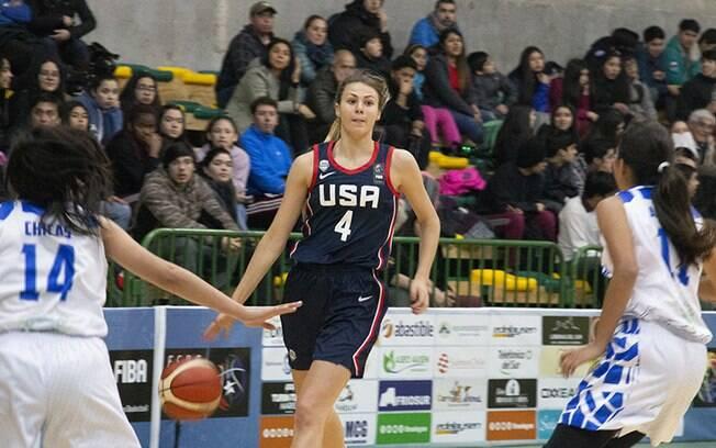 EUA venceu El Salvador por 95 pontos de diferença em jogo de basquete sub-16