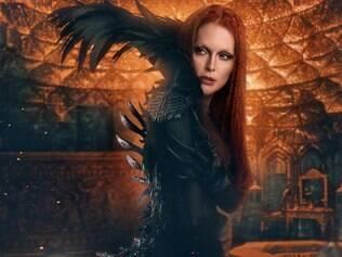 "Vilã. Em ""O Sétimo Filho"", Julianne Moore vive a feiticeira má Mãe Malkin"