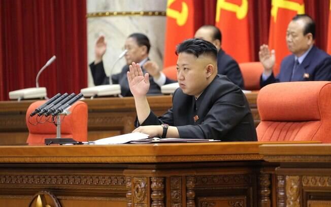 O líder norte-coreano Kim Jong-un: ameaças nucleares