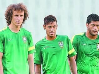 Sonho. David Luiz, Neymar, Hulk e outros 20 guerreiros começam hoje a se preparar para trajetória rumo ao hexa