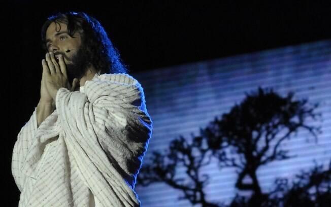 Kayky Brito interpreta Jesus em