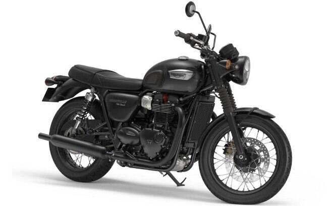 Triumph Bonneville T100 Black: Manauara de alma britânica, tem ares robustos e pegada pensada para os puristas