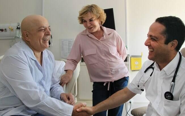 Lula recebe alta do hospital s rio liban s pol tica ig - Hospital sirio libanes sao paulo ...