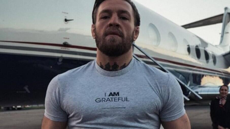 Conor McGregor se prepara para o UFC 257